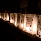 Luminaria Ceremony In California