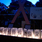 Luminaria Ceremony In Northern California