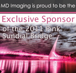 MD Imaging, Pink Sundial Bridge