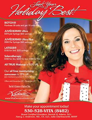 Cosmetic Dermatology Holiday Specials At Vita